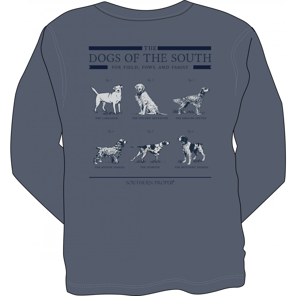 Dogs of The South Long Sleeve Tee